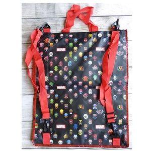 Disney Pixar Marvel Convertible Backpack Tote Bag